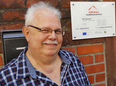 Bernd Mrotzek leitet Arbeitslosenzentrum