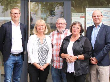 Oliver Kaczmarek besucht Verbraucherzentrale in Schwerte