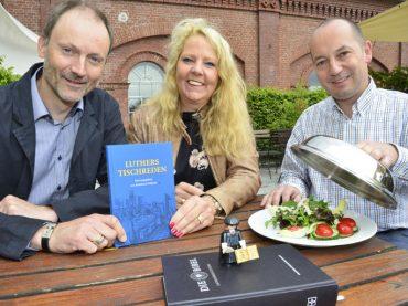Bianca Dausend und Stephan Ebmeier laden zum Luthermahl in die Rohrmeisterei