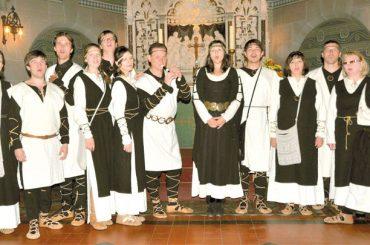 Stimmgewaltiger russischer Chor singt in der Johanniskirche
