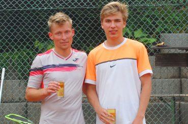 Tennis-Stadtmeisterschaft in Westhofen: Oliver Manz – drei Finale, zwei Titel