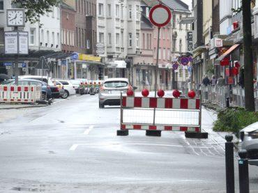 Umbau der Bahnhofstraße hat begonnen – Die ISG sieht's positiv