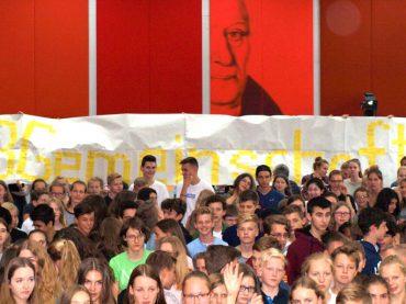 """FBGemeinschaft lebt """"Schule ohne Rassismus – Schule mit Courage"""""""