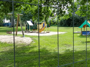 Kieselrot: Spielplatz Lichtendorfer Straße gesperrt