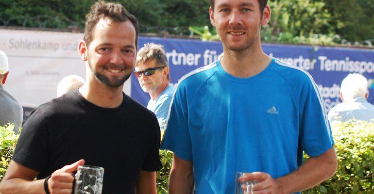 Gutes Tennis in Schwerte – Herren-Finale endete abrupt