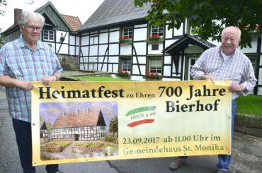 Ein großes Fest steht an: Ergster Bierhof wird 700 Jahre alt