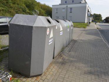 ABB: Glascontainer verlegen – Kita-Außengelände fertigstellen