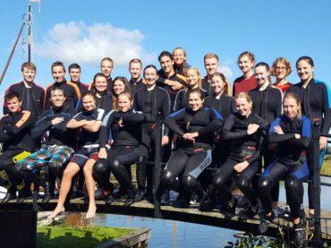 FBG-Wassersportler auf Exkursion in Holland