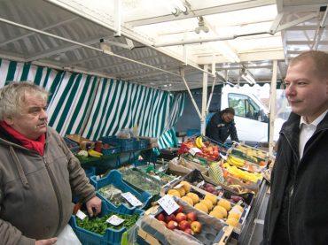 Über den Wochenmarkt und diverse andere Besuche