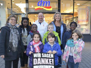 dm-Spende für DRK-Kinderhort