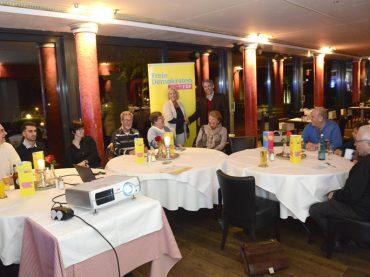 Liberaler Stammtisch mit Adrian Mork: Wirtschaft, Verkehr und City Schwerpunkte