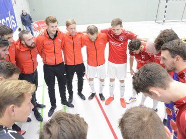 Futsal: Sechs Punkte müssen aufgeholt werden
