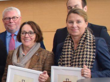 """Stadtwerke Schwerte und Diagramm Halbach erhalten den """"Pluspunkt Familie"""""""