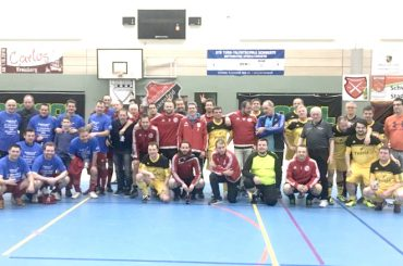 Die Alten Herren des Geisecker SV sind neuer Hallenfußball-Stadtmeister