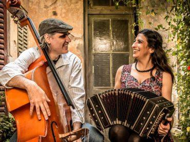 Milonga mit der Musik Argentiniens