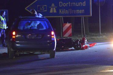 Unfall auf der Ruhrtalstraße: Rollerfahrer schwer verletzt