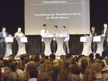 Digitalisierung, Freizeit: Schüler fragen die Kandidaten