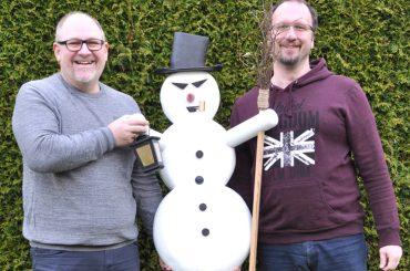 Wer macht dem Schneemann den Garaus?