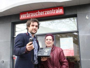 Immer Ärger beim Telefonieren: Margot Rademacher möchte weg von Tele2