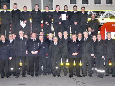 226 Einsätze für die Freiwillige Feuerwehr in 2017
