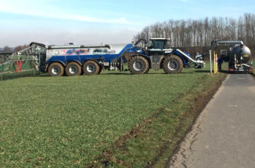Gülle wird aufgebracht: Ergster schaltet die Landwirtschaftskammer ein