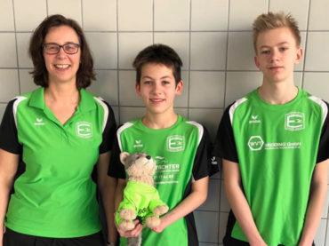 Schwimmen: Maurice Wetekam und Jannis Malz gut im Rennen