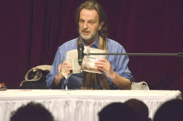 Die Straßen der Lebenden: Helge Timmerberg las in der Rohrmeisterei