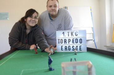 Torpedo startet durch: Tipp-Kicker laden zum öffentlichen Training