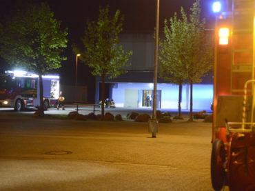 Feuerwehreinsatz in der Sporthalle endete glimpflich