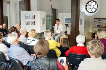Übers philosophische Fundament bis auf die Dachterrasse: Ute Lauterbach lockt viele Menschen