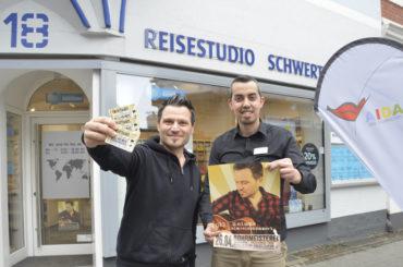 Olli Heinze auf Heimreise – Tickets gibt's im Reisestudio