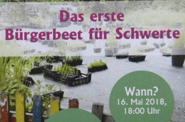 """Eine bessere Welt ist pflanzbar: """"Gruppe Bürgerbeet"""" schreitet auf dem Markt zur Tat"""