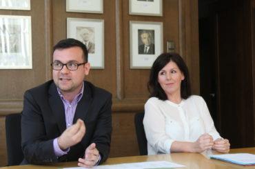 Bürgermeister stellt neue Verwaltungsstrukturen vor