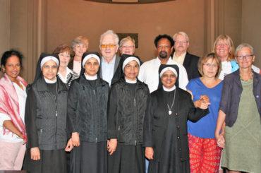 Indische Ordensschwestern kamen zur Gedenkmesse für Schwester Aquina