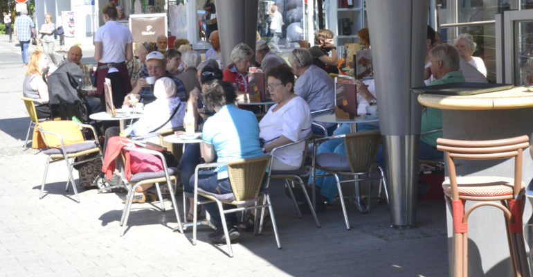 Stadt soll sich weiter beleben: Grüne wollen Gebühr für Außengastronomie abschaffen