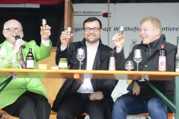 Politischer Frühschoppen auf dem Maifest: Bürgermeister will die Westhofener mitnehmen