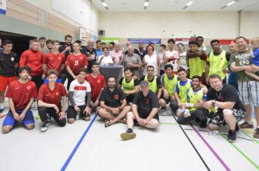 Zum 15. Geburtstag: Nachtsport am Samstagmittag