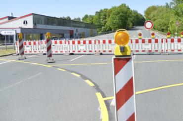 Sperrung der Rote-Haus-Straße: Bislang noch keine Probleme auf der Villigster Straße