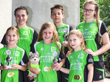Bergstadtschwimmfest: Ergster räumen ab
