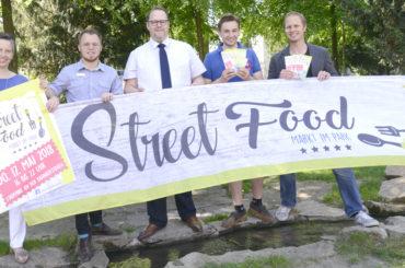 Auf das feine Leben! Streetfoodmarkt im Park wartet am 17. Mai erstmals auf seine Besucher