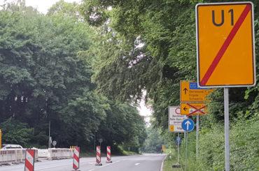 Umleitungsirritationen an der Baustelle: Die Stadt reagiert umgehend