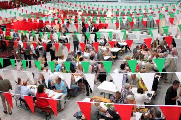 Feier der Rotarier: Wieviel Italien passt in eine Aula?