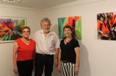 """Ausstellung """"Im Farbenrausch"""": Farben und Formen sprechen für sich"""