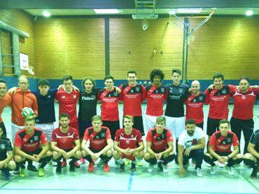 """Vor dem """"Entwicklungsjahr"""": Trainingsauftakt bei den Futsalern der Holzpfosten"""