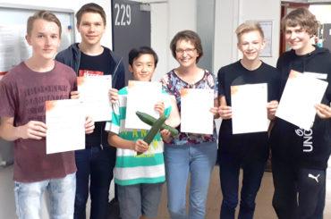 "RTG bei Junior Science Olympiade: ""Geniales Gemüse, geniale Schüler"""