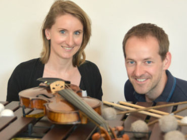 RuhrPOTTpouri mit Violine und Marimbaphon