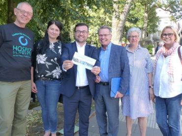 Hospizlauf am 16. September: Bürgermeister ist jetzt auf dem Laufenden