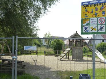 Sperrung Spielplatz Thüner Wiese Ost dauert nur noch ein paar Tage