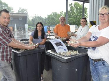 Kronkorken für einen guten Zweck: Stadt sammelt für Kinder- und Jugendhospizdienst