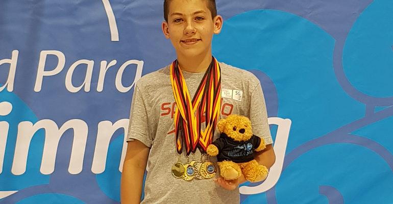 Maurice Wetekamm gewinnt fünf Titel